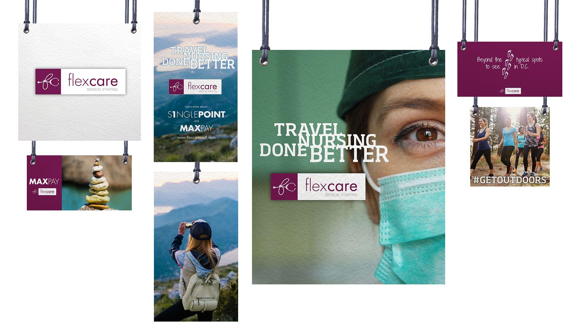 Brand Design Portfolio Tiv Branding Maxpay 100 Flexcare Color Photo