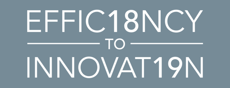 EFFIC18NCY TO INNOVAT19N